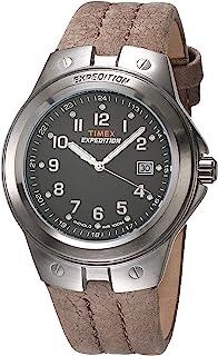 ساعت مچي مردانه Timex سري Expedition Metal Tech  مدل T49631با بند چرمی قهوه ای