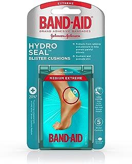 Band-Aid Brand Hydro Seal Blister Cushion Bandages, Waterproof Adhesive Pads, Medium, 5 ct