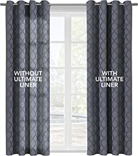 Thermalogic Ultimate Thermal Energy Saving Blackout Window Curtain Liner, 45