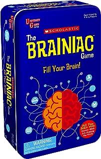 The Scholastic Brainiac Game Tin
