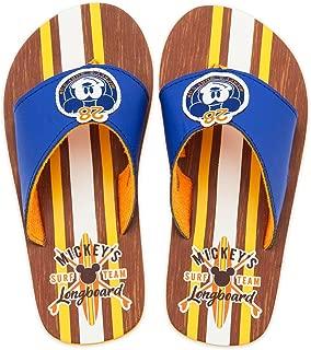 Disney Store Mickey Mouse Longboard Flip Flops for Boys