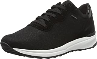GEOX Womens Trainers D Airell B Casual Shoes - Black