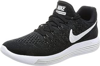 Nike Women Lunarepic Low Flyknit 2 Running (Black/White-Anthracite) Size 6.5 US