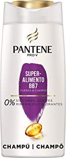 Pantene Pro-V Superalimento Champú Para Pelo Frágil Y Fino Con Mezcla Pro-V Antioxidantes Y Lípidos 700 ml