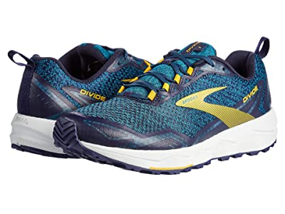 Brooks Divide (Lagoon/Navy/Golden Rod) Men