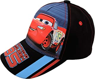 Kids baseball Hat for Boys Ages 2-7, Lightning McQueen cap