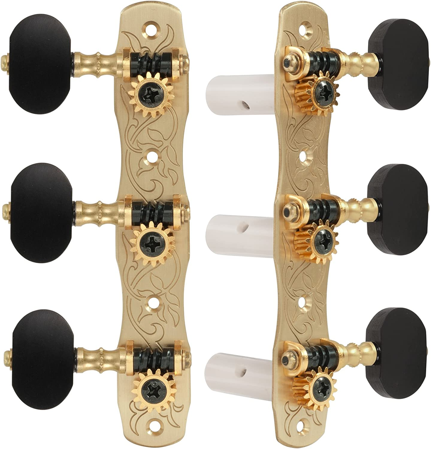 Gotoh Classical Guitar Tuners Knobs with Large discharge sale Ebony Cheap mail order specialty store