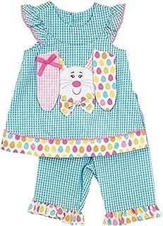 Easter Floppy Eared Seersucker Top and Pants