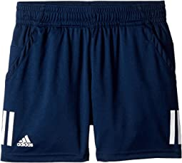 adidas Kids 3-Stripes Club Shorts (Little Kids/Big Kids)