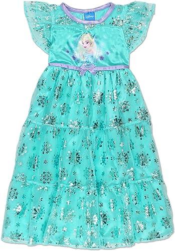 Disney Chemise de nuit de pyjama fantaisie par Elsa Anna pour fille