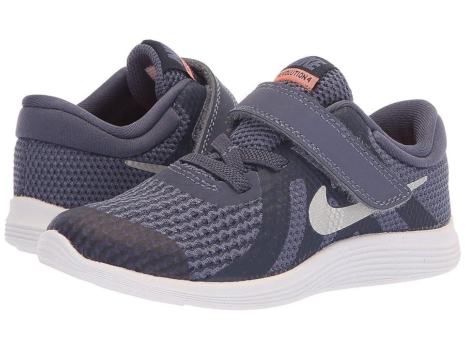 Nike Kids Revolution 4 (Infant/Toddler) (Sanded Purple/Metallic Silver) Girls Shoes