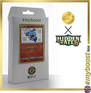 Yveltal 95//181 Holo Reverse Box de 10 Cartas Pok/émon Franc/és #myboost X Soleil /& Lune 9 Duo de Choc