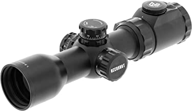 UTG OP3 1.5-6X36 Crossbow Scope, AO, RGB, 130 Hunter BDC, Black, Model:OP3-G1563CRWQ