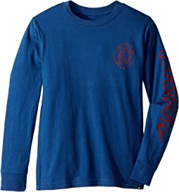 Quiksilver Kids - Kool Shapes Long Sleeve Shirt (Big Kids)