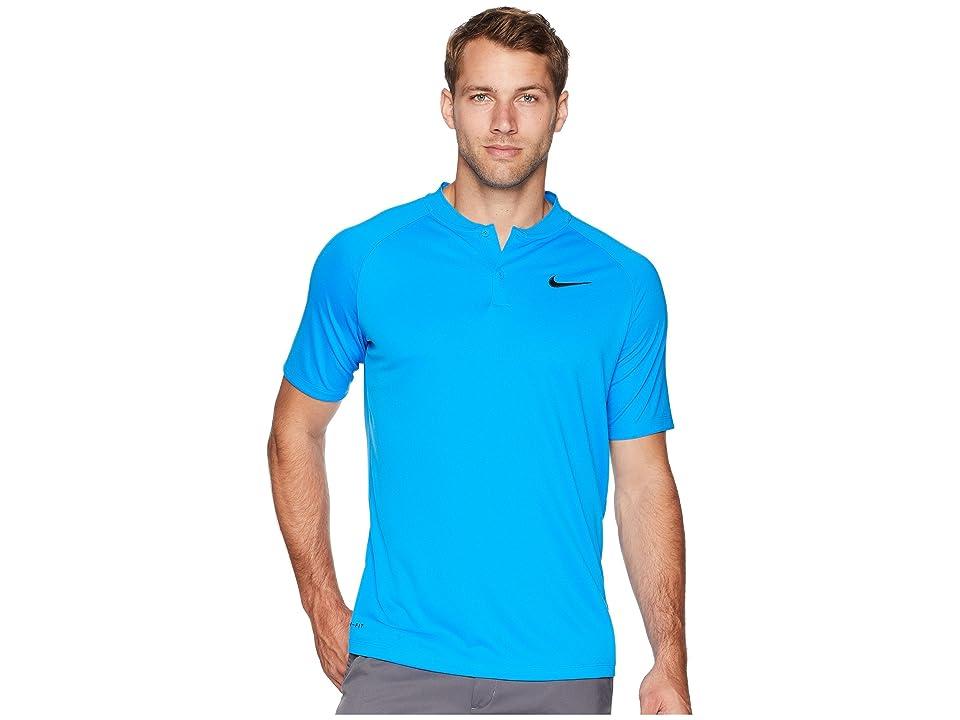 Nike Golf Victory Blade Polo (Photo Blue/Photo Blue/Black) Men
