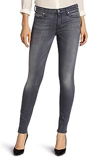 Hudson Jeans Women's Nico Midrise Super Skinny Gray Wash 5 Pocket Jean Rakke 28