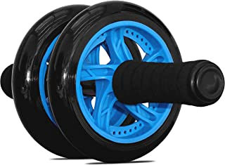 Garren Fitness Maximiza Ab Wheel - This Abs Wheel comes with a Knee Pad and Dual Wheel Rollers for Added Stability and Comfort, and is the Abs Wheel for a Perfect Core Workout