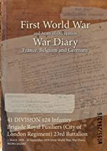 41 DIVISION 124 Infantry Brigade Royal Fusiliers (City of London Regiment) 23rd Battalion : 1 March 1919 - 30 September 1919 (First World War, War Diary, WO95/2643/6)