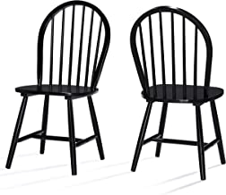 Christopher Knight Home Declan Dining Chairs (Set Of 2), 2-Pcs Set, Black