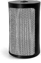 Calefactor Portátil Eléctrico para Hogar y Oficina, Calentador de Cerámica con Protección con Inclinación y Sobrecalentamiento, 200 sq.Ft Interior Calor Rápido, 750W / 1500W Calefactor