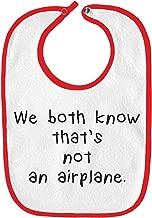 airplane spoon and bib