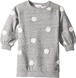 Adult Inspiration Fleece Dress with Embroidered Flowers (Toddler/Little Kids)