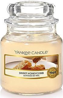 Yankee Candle bougie jarre parfumée | petite taille | Alvéoles de miel | jusqu'à 30 heures de combustion | La Collection G...