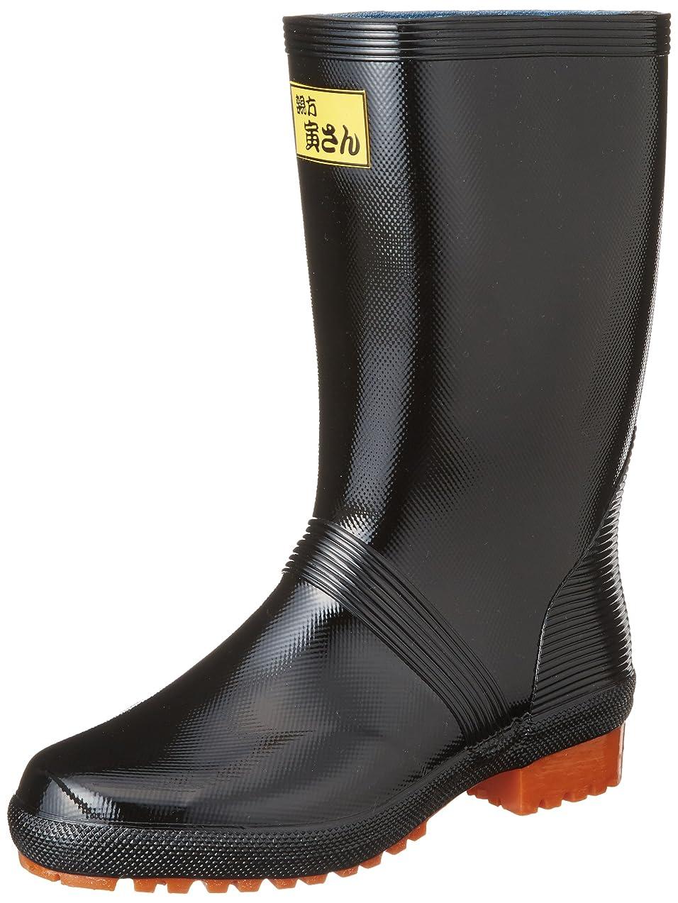 堤防破壊する日没[フクヤマゴム] 長靴 親方寅さんブーツ1 メンズ