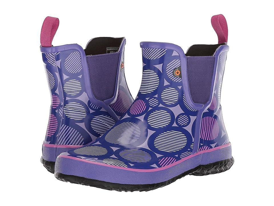 Bogs Kids Amanda Slip-On Dot (Toddler/Little Kid/Big Kid) (Violet Multi) Girls Shoes