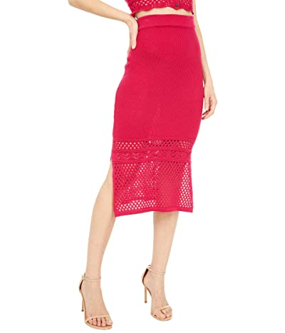 BCBGeneration Sweater Skirt SB1SX5S03 (Azalea) Women