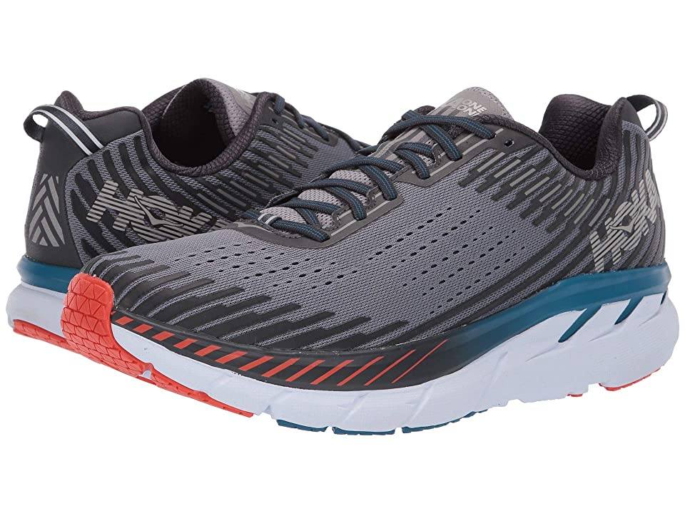 Hoka One One Clifton 5 (Frost Gray/Ebony) Men's Running Shoes