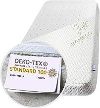 Colchón Next To Me Certificado Oeko-tex® h 7cm Cuna Infantil Anti-asfixia Ácaro transpirable suave Compatible Chicco Next2Me Cam Cullami Kinderkraft Brevi Cosleeping