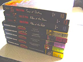 Cirque Du Freak 8 Vol Set: Living Nightmare, Vampire's Assistant, Tunnels of Blood, Vampire Mountain, Trials of Death, Allies of Night, Killers of Dawn, Sons of Destiny