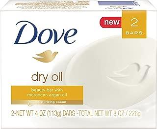 Dove Beauty Bar, Dry Oil, 4 oz, 2 Bar