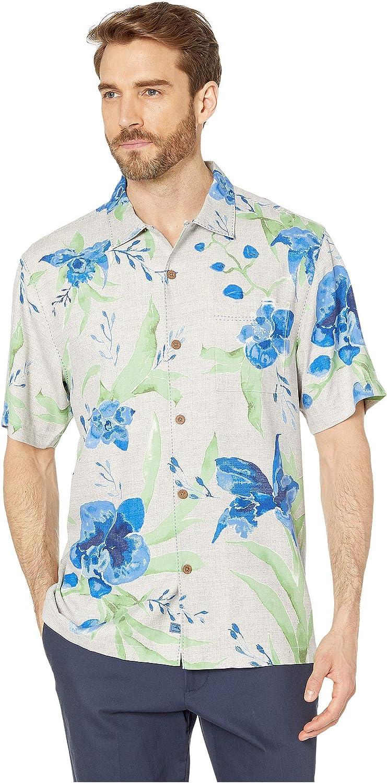 Tommy Bahama Ranking TOP18 Aqua Blooms Shirt Camp Bargain sale Silk