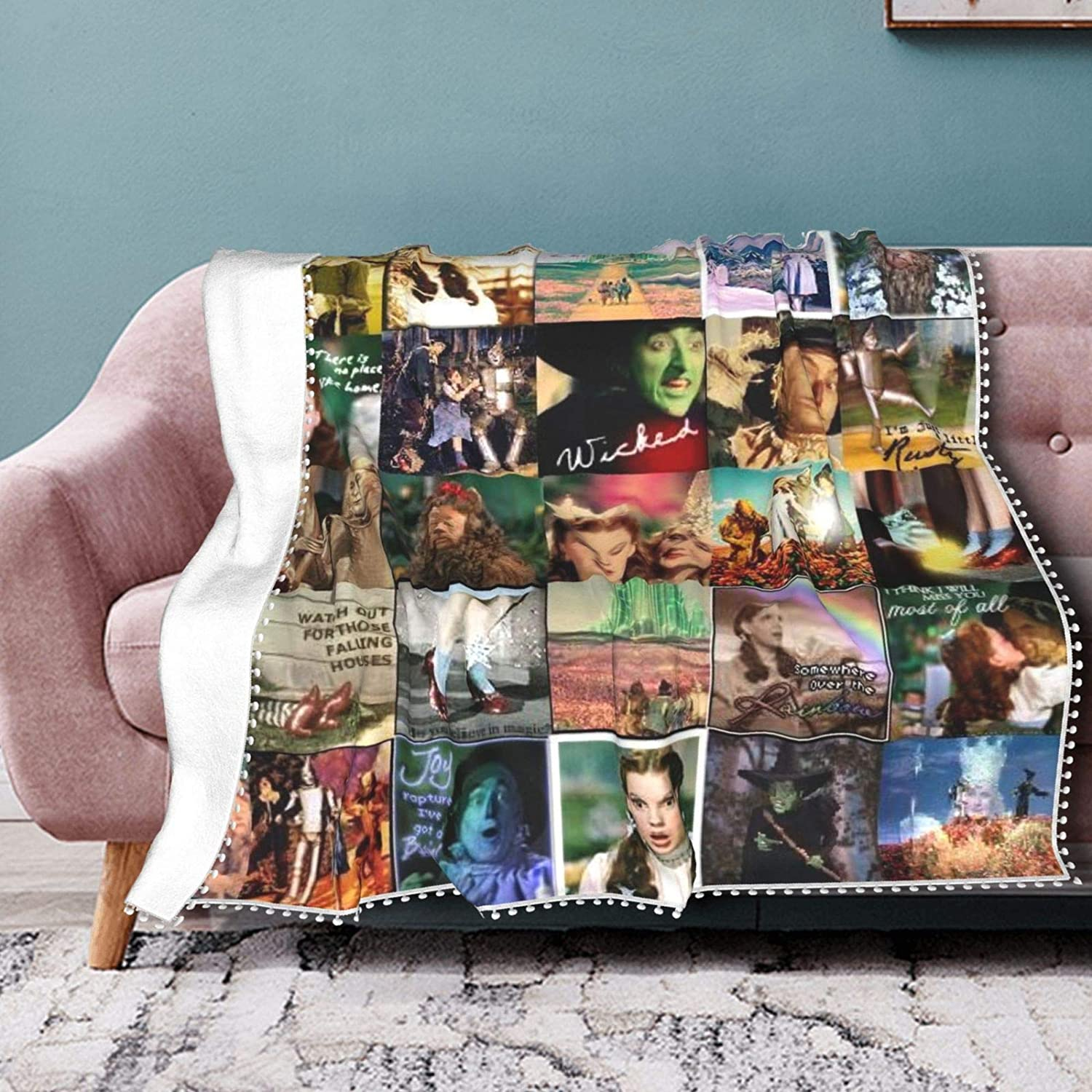 The Wizard of Oz Judy Garland Ligh Soft Max 78% OFF Cheap Ultra Cozy online shopping Blanket