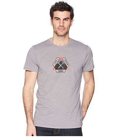 Mountain Hardwear Route Settertm Short Sleeve Tee (Heather Manta Grey) Men