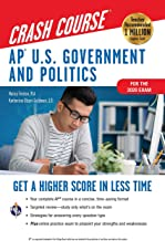 AP® U.S. Government & Politics Crash Course, For the 2020 Exam, Book + Online: Get a Higher Score in Less Time (Advanced Placement (AP) Crash Course)