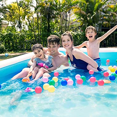 """CHTY Inflatable Swimming Pool, Full-Sized Inflatable Lounge Pool, 97"""" X 59"""" X 24"""",Adult,Outdoor, Garden, Pools fo"""