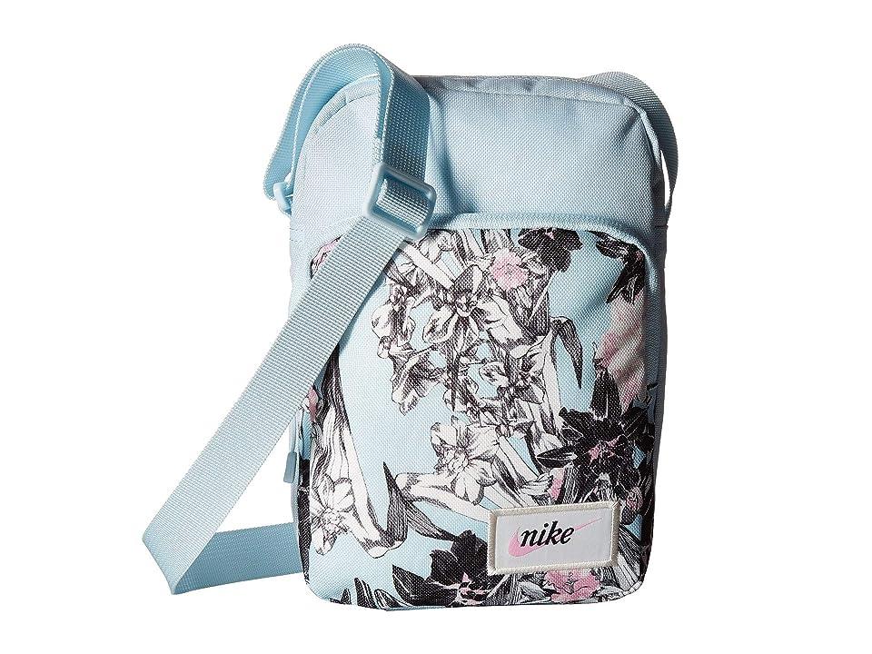 898d9da2ad Nike Heritage Small Items Bag (Topaz Mist Topaz Mist Pink Rose) Bags