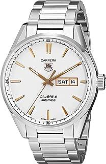 Men's WAR201D.BA0723 Carrera Analog Display Analog Quartz Silver Watch