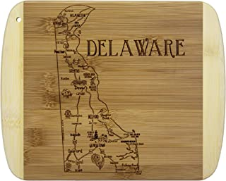 Totally Bamboo A Slice of Life Delaware Bamboo Serving and Cutting Board
