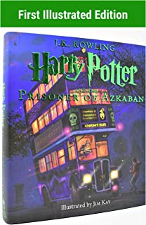 Harry Potter & The Prisoner of Azkaban Illustrated Hardcover (Book #3) COLLECTIBLE FIRST PRINTING
