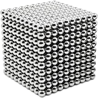 sunsoy 1000 Pieces Magnetic Sculpture Magnet Building Blocks Fidget Gadget Toys for Stress Relief, Office and Home Desk Decor, Cool Gadget for Adult,Man,Women