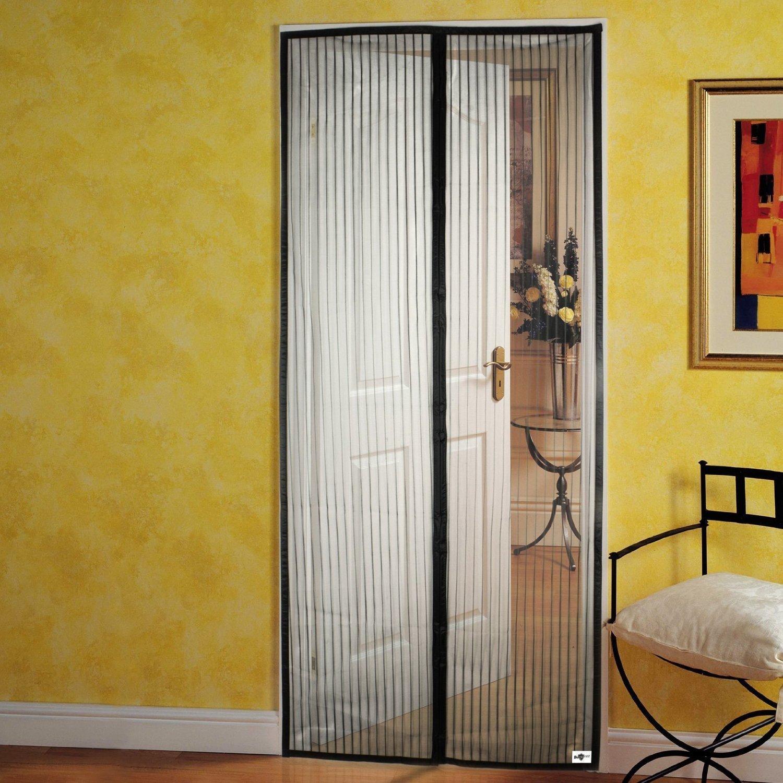 Homee magnético de malla Protector de puerta para puertas francesas, garaje, patio, jardín, al aire libre y interior, hasta 38,4 x 81,7 cm (Beige): Amazon.es: Bricolaje y herramientas