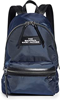 Marc Jacobs Women's The Large Backpack, Night Blue, One Size