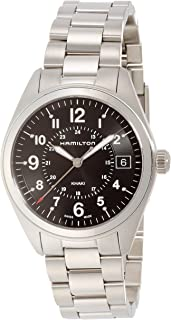 Hamilton Reloj Analogico para Hombre de Cuarzo con Correa en Acero Inoxidable H68551933