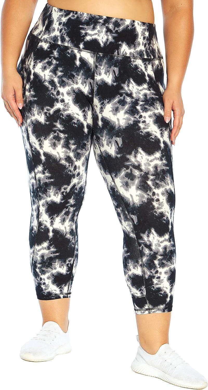 Marika Women's Plus Size Max 40% OFF Kris High Lowest price challenge Tie Legging Dye Rise Capri