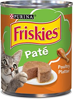 Purina Friskies Classic Pate Poultry Platter Wet Cat Food - (12) 13 oz. Cans