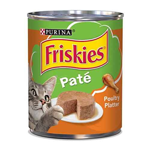 Purina Friskies Classic Pate Poultry Platter Wet Cat Food - (12) 13 oz.